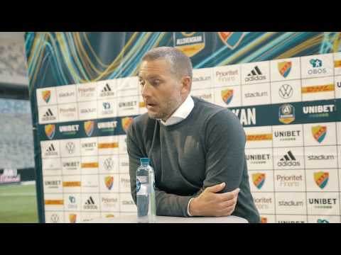 Presskonferens efter DIF - ÖSK