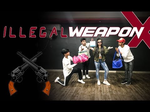 Illegal Weapon | Jasmine Sandlas | Choreography Sumit Parihar ( Badshah )