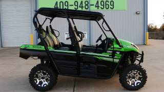 10. SALE $13,699:  2017 Kawasaki Teryx4 LE Candy Lime Green Overview and Review