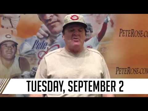 A special announcement from Pete Rose