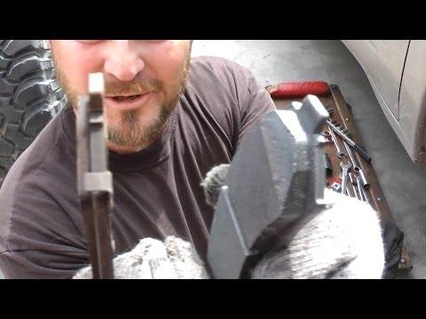 Front Brake Pad Replacement (Pontiac Bonneville)