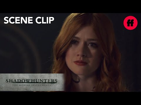Shadowhunters   Season 3, Episode 8: Clary Tells The Clave The Truth   Freeform