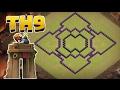 Clash of Clans RH9|Best Clankrieg Base 2017 Deutsch (HD+)(60FPS)