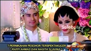 Video On The Spot - 7 Pernikahan Pesohor Terspektakuler MP3, 3GP, MP4, WEBM, AVI, FLV Januari 2018