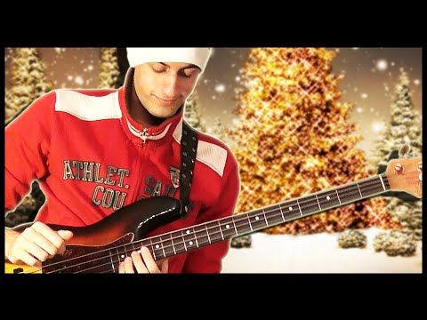 meets - Merry Christmas!! Here's a slap bass Christmas video where I play Jingle Bells Rock and Jingle Bells! I love to play Christmas songs :D Don't forget to leave a comment to let me know if you...