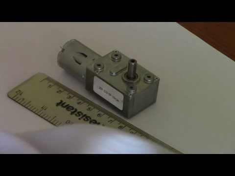 Testing JGY-370 geared motor
