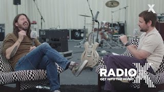 Dave Grohl interview at the Etihad Stadium | FULL interview