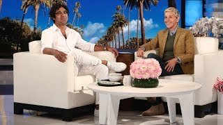 Video Kunal Nayyar Is the Resident Welcome Committee on the Studio Lot MP3, 3GP, MP4, WEBM, AVI, FLV Maret 2019