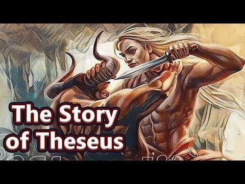 The Story of Theseus (The Athenian Hero) Greek Mythology - See U in History