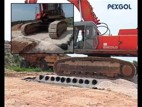 Pexgol 315 mm pex pipes durability test under 60 tones