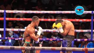 Isaac Dogboe vs Chacon fight - Highlights