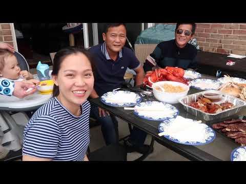 Vlog 128 ll Ăn Tiệc Cùng Cháu Gái Và Chia Tay Về Lại Chicago - Thời lượng: 16:21.