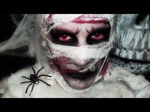 Maquillage Halloween : Momie