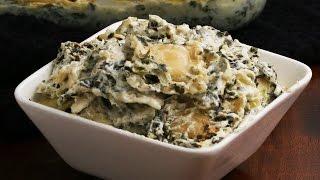 Cheesy Spinach Artichoke Ravioli Bake by Tasty