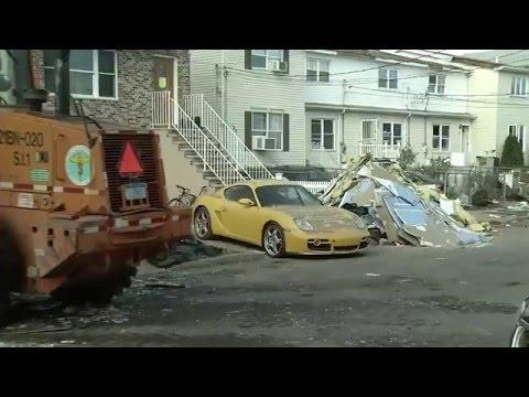 뉴욕시, 샌디 피해 주택 경매  5.17.16  KBS America News