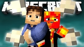 TRIBUTES VS WOLVES! (Minecraft Hunger Games Classes with Preston and Woofless!) #7