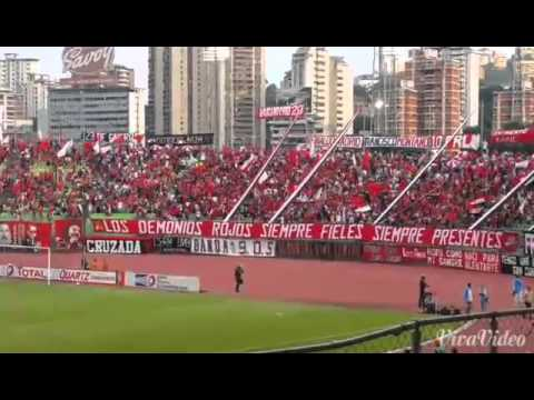 Barra del Caracas Futbol Club 24/09/14 - Los Demonios Rojos - Caracas
