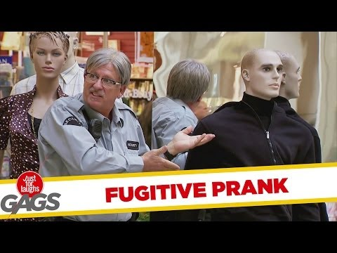 Fugitive Transforms Into Mannequin - Youtube