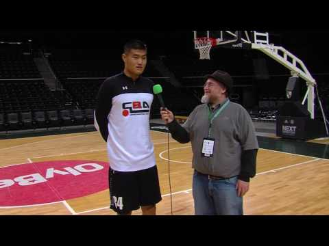 ANGT Kaunas: Interview with Shengzhe Li, U18 CBA Las Palmas