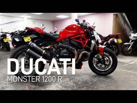2016 Ducati 1200R Monster