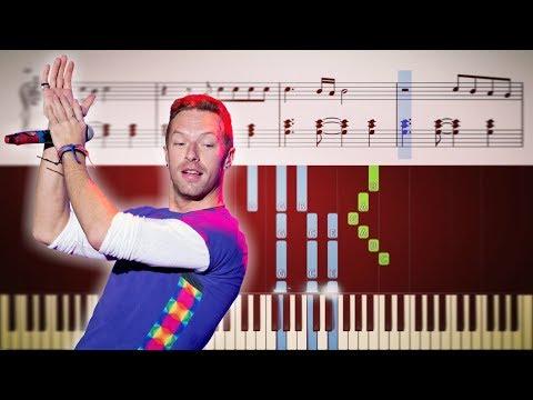 видео игры на фортепиано - Fix you