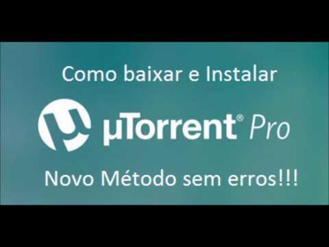 Como Baixar e Instalar o utorrent Pro 2019