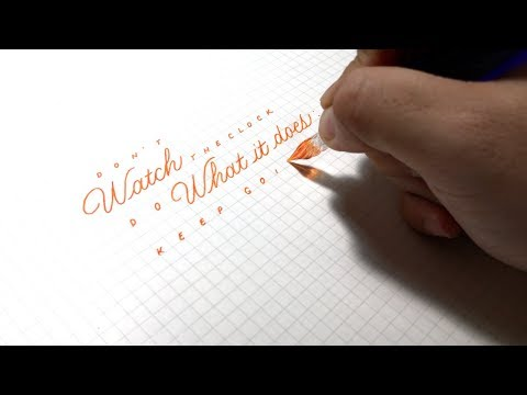 Success quotes - Don't watch the clock - Quotes in Handwriting S01 E08