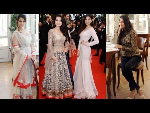 Ameesha Patel and Puja Gupta walk the red carpet a