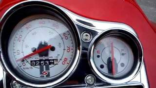 9. Vespa S 50 2T  / scooter  tuning 0-100 acceleration