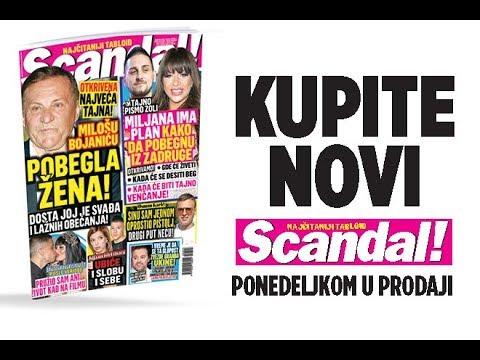 SCANDAL NOVINE: Milošu Bojaniću pobegla žena! Miljana ima plan za beg iz Zadruge! Kija će ubiti i Slobu i sebe! Osman Karić: Stefanu sam jednom oprostio pištolj!
