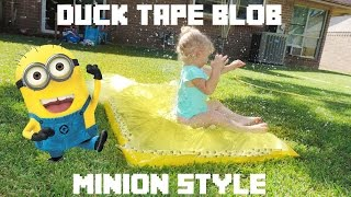Minion Duck Tape Blob - YouTube