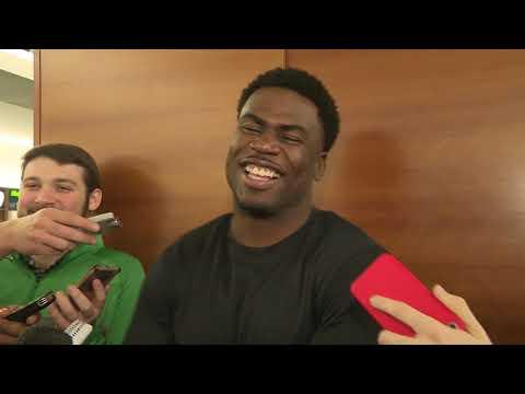 Video: Quincy Enunwa talks new deal with Jets, teammates talk new deal!