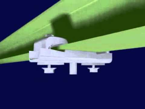 Extending Light Rail Crane Systems Video Image