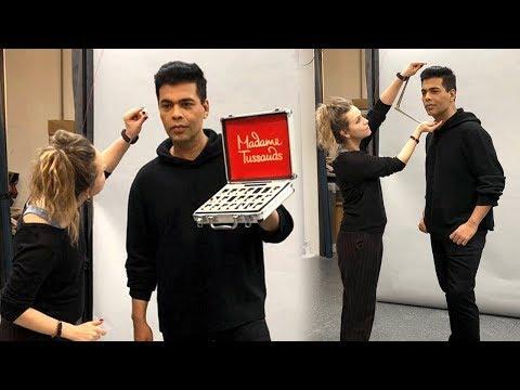 Karan Johar Wax Statue At Madame Tussauds   First