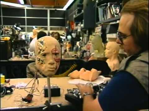 Видео со съёмок Terminator 2 (видео)