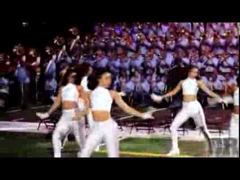 Southern University Marching Band Performs