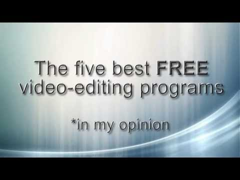 programs - My other, much more hilarious channel - http://www.youtube.com/user/ripthescriptshow?feature=mhee A short video listing I made on the top five FREE video-edi...