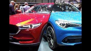 Alfa Romeo Stelvio vs Mazda CX 5