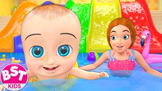 Video Swimming Pool Song | BST Kids Songs & Nursery Rhymes MP3, 3GP, MP4, WEBM, AVI, FLV April 2019