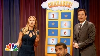 Video Charades with Scarlett Johansson and Drake (Late Night with Jimmy Fallon) MP3, 3GP, MP4, WEBM, AVI, FLV Juli 2018