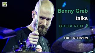 "Full article with more videos and photos on Drummerszone:http://drummerszone.com/news/article/on-stage-6-13549/benny-greb-talks-grebfruit-2- Benny Greb talks Grebfruit 2 -We interviewed Benny Greb on the day he premiered Grebfruit 2 live at the Meinl Drum Festival in Gutenstetten, Germany. He released 'Grebfruit 2' on July 21, 2017. The topics we covered with Benny in this interview:01. Playing Grebfuit 2 for the first time live02. How the '2' relates to the first Grebfruit album03. and Benny talks about the creative process when writing and recording the album04. How did the idea to only do vocals take shape?05. About recording all those vocals06. How Benny wrote and created the vocal parts07. About recording the drums last08. And finally, about the duration of recording all those vocals09. Benny about his favorite tracks on Grebfruit 210. About his love for New Orleans music and drum grooves11. Benny talks about his cover of Vinnie Colaiuta's ""I'm Tweeked / Attack of the 20 Lb. Pizza"" track from Vinnie Colaiuta's 1994 solo album12. And Benny gives some final thoughts on the albumBenny Greb plays Meinl Cymbals and Percussion, Sonor drums, Remo drumheads and Vic Firth drum sticks.Benny Greb on Drummerszone:http://drummerszone.com/artists/profile/7984/benny-grebBenny Greb's 'Grebfruit 2' video channel on Drummerszone:http://drummerszone.com/videos/channel/dz-9756-11579/grebfruit-2Meinl Drum Festival 2017On July 1st, 2017, Meinl held their annual Meinl Drum Festival on the company's premises in Gutenstetten, Germany.Artists performing the 2017 edition were:- Benny Greb - Alex Rudinger - Arthur Hnatek - drescHHeads: Simon Gattringer and Max Groesswang- Aric Improta - Miguel Lamas - Luke Holland - Chris Coleman - Anika Nilles featuring NevellFollow Drummerszone on:YouTube: https://www.youtube.com/drummerszoneTwitter: https://twitter.com/drummerszoneFacebook: https://www.facebook.com/drummerszoneInstagram: https://www.instagram.com/drummerszoneBeat your heart out!http://drummerszone.comVisit our live Drummer Index:http://drummersocial.com"
