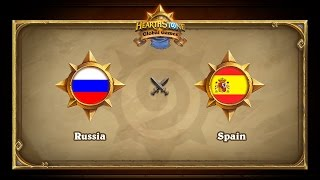 RUS vs ESP, game 1