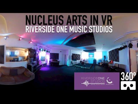 Riverside One Music Studios - Nucleus Arts, Chatham, Kent - VR 360 Video