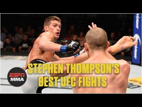Stephen 'Wonderboy' Thompson's best UFC fights | Highlights | ESPN MMA