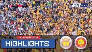 Highlights: Nam Định vượt qua Thanh Hóa trong trận cầu