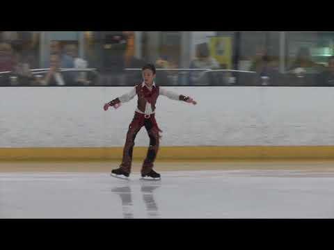 Aleksander Lerner  Palm Beach Ice Works Compete USA 2018
