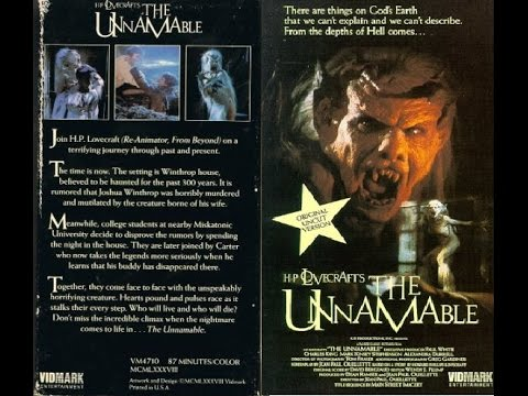 The Unnamable (1988) Movie Review - Underrated Gem & Childhood Favorite