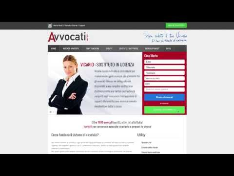 Video of Avvocati.org News