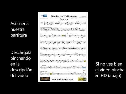 current song image. Noche de , Halloween de Saurom