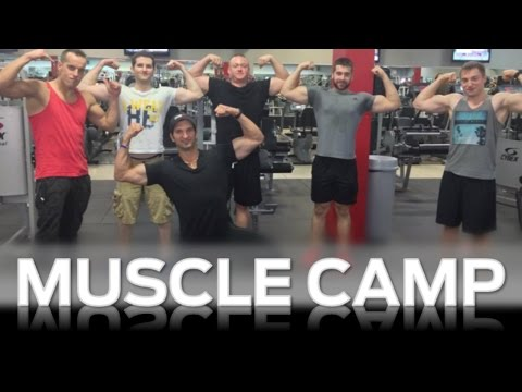 Muscle Camp: The First & Only Muscle Building YouTube Training Camp